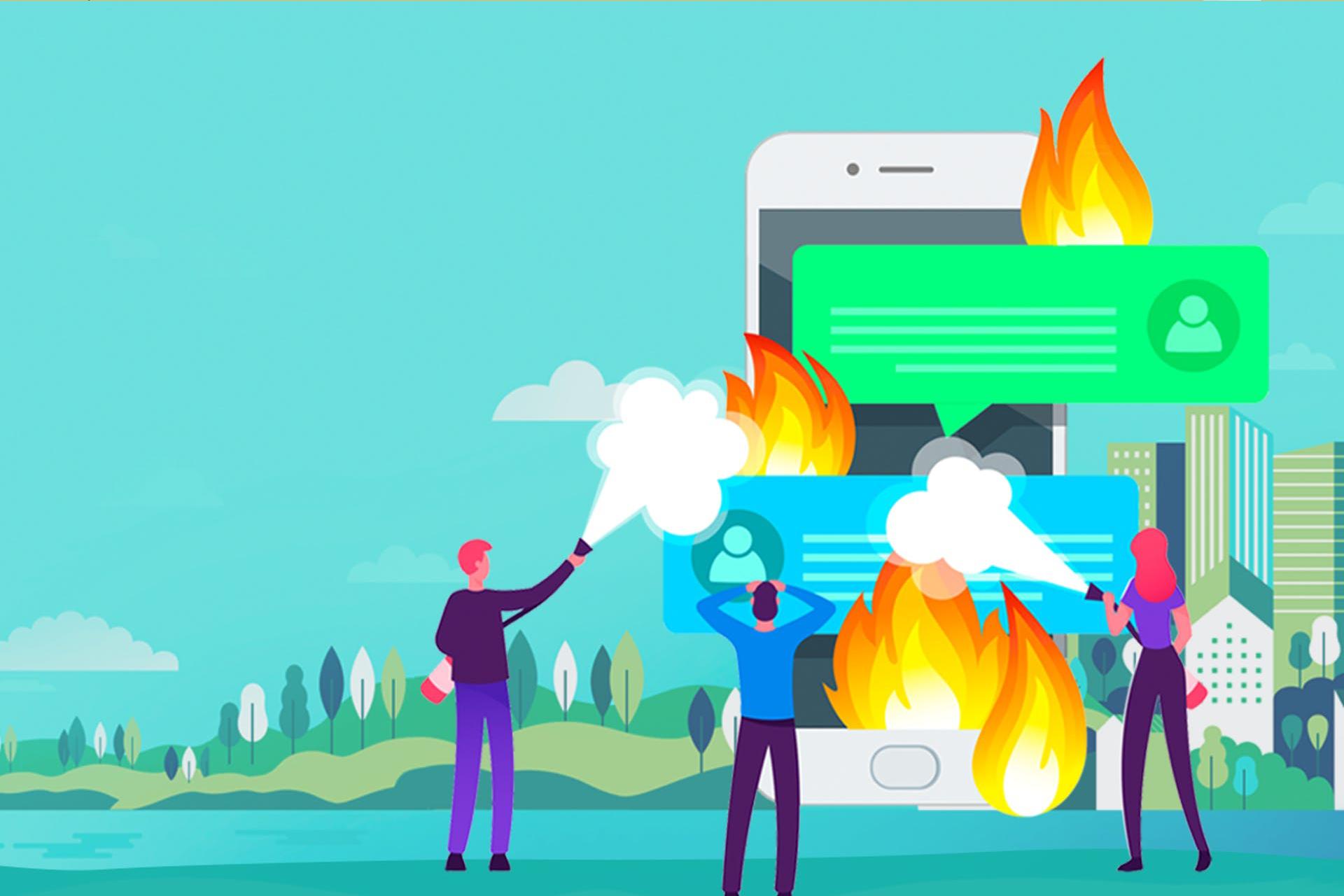 Cómo afrontar una crisis de reputación en Redes Sociales